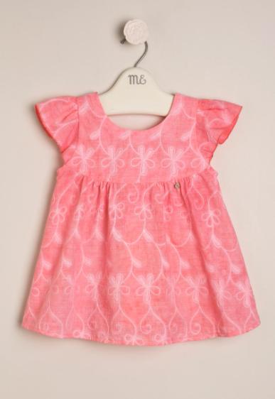 Camisola broderie batik rosa