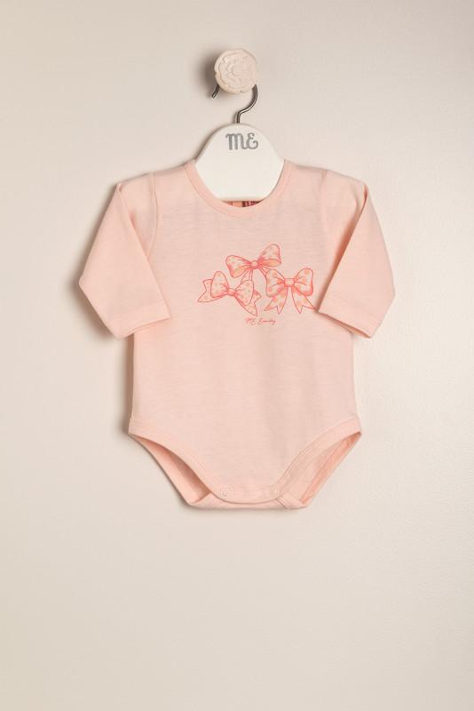 Body moños rosa