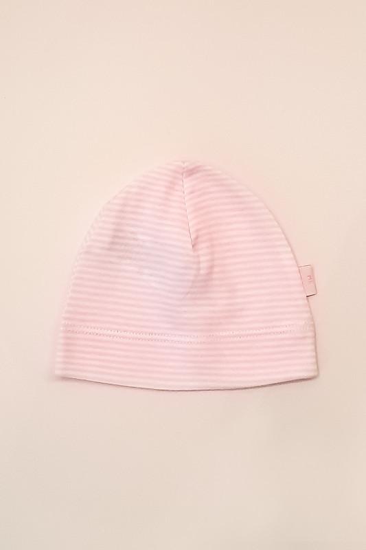 Gorro mil rayas rosa