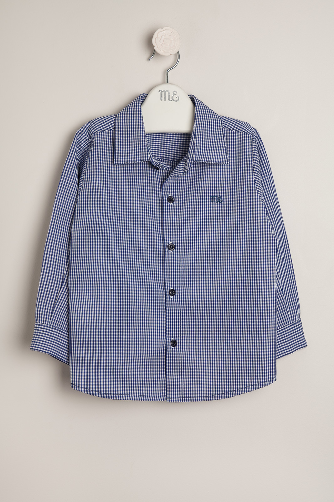 Camisa cuadrille bl/az
