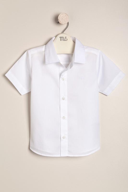Camisa de vestir mc blanco