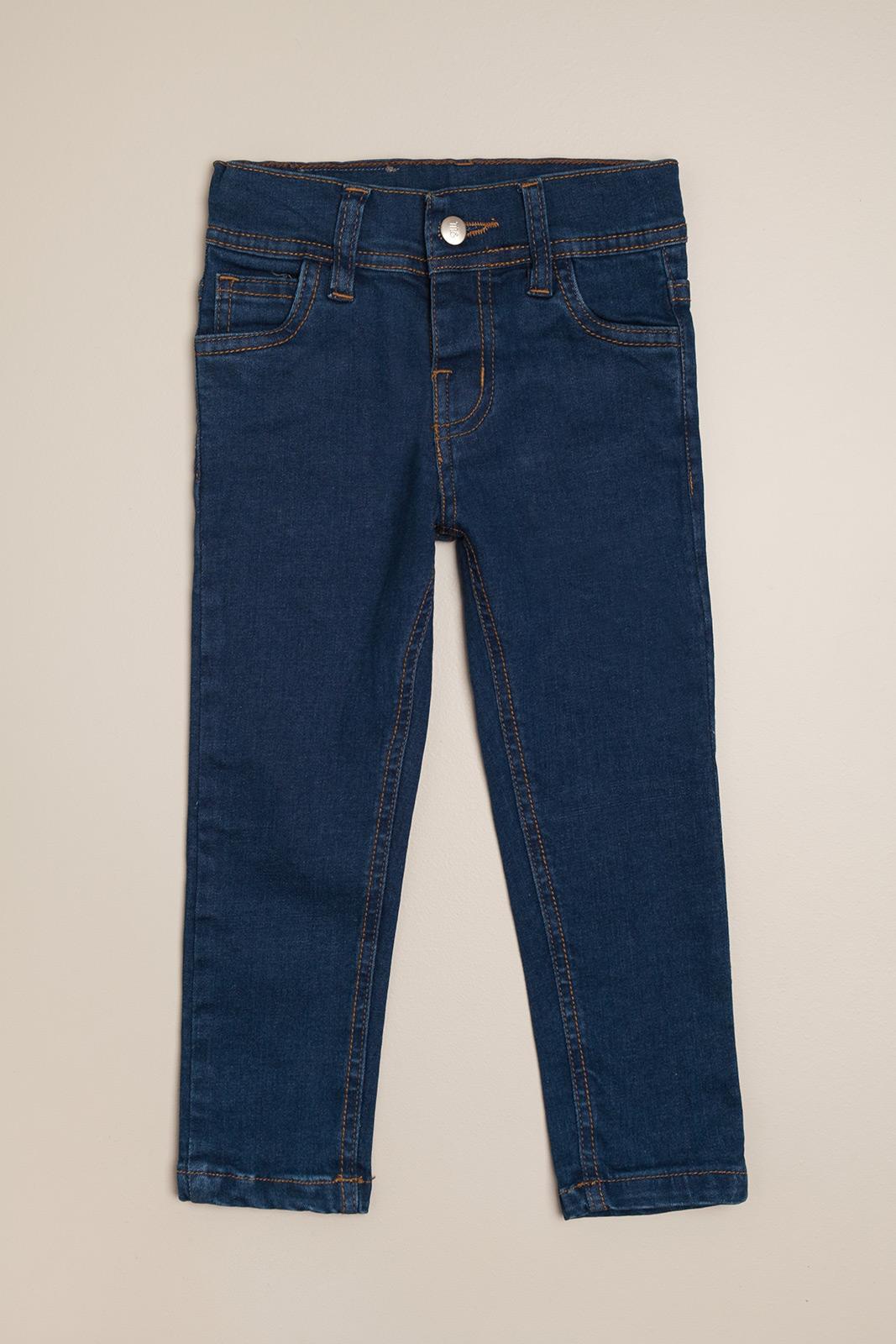 Pantalon de jeans clasico azul