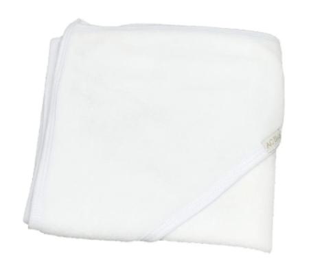 Toalla de baño clasica blanca