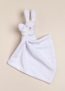 Conejo dudu de plush blanco