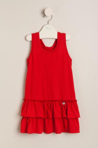 Vestido Amelie rojo