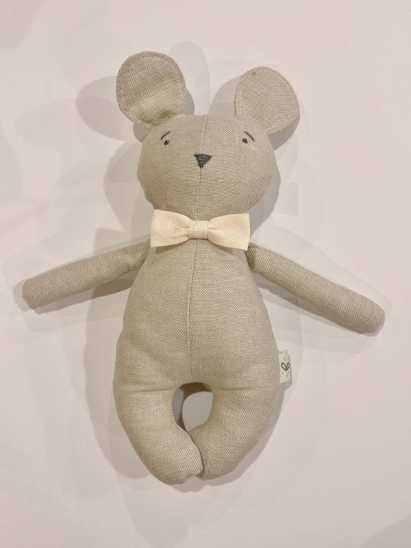 Mini oso corbata