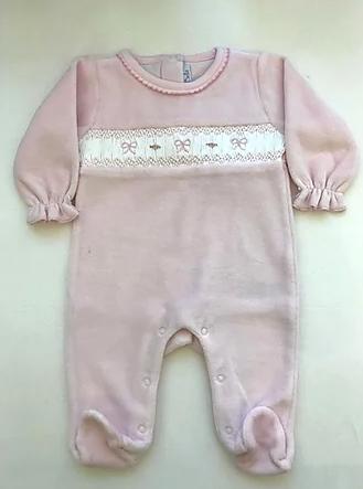 Enterito de plush moñito rosa