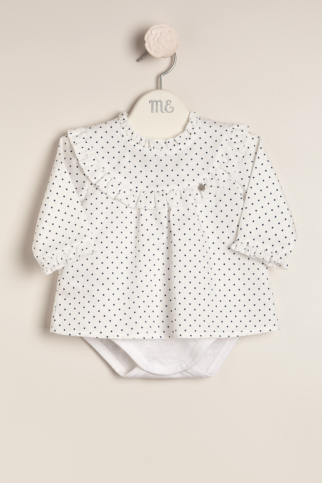 Body blusa con lunares Mini