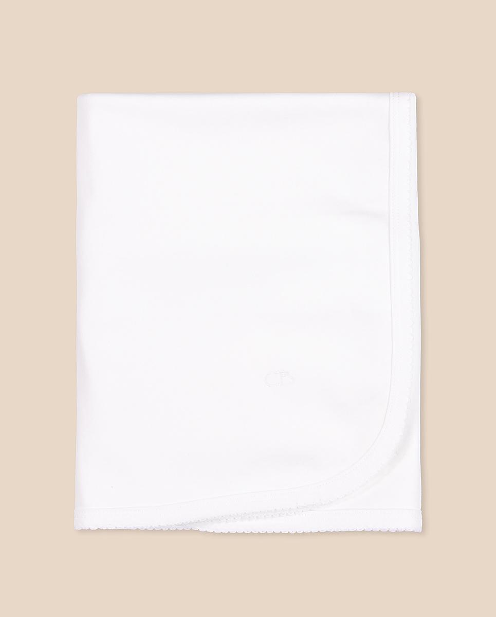 Manta basica blanca