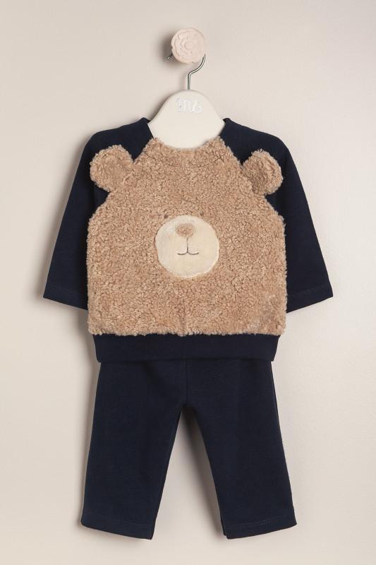 Conjunto teddy bear azul