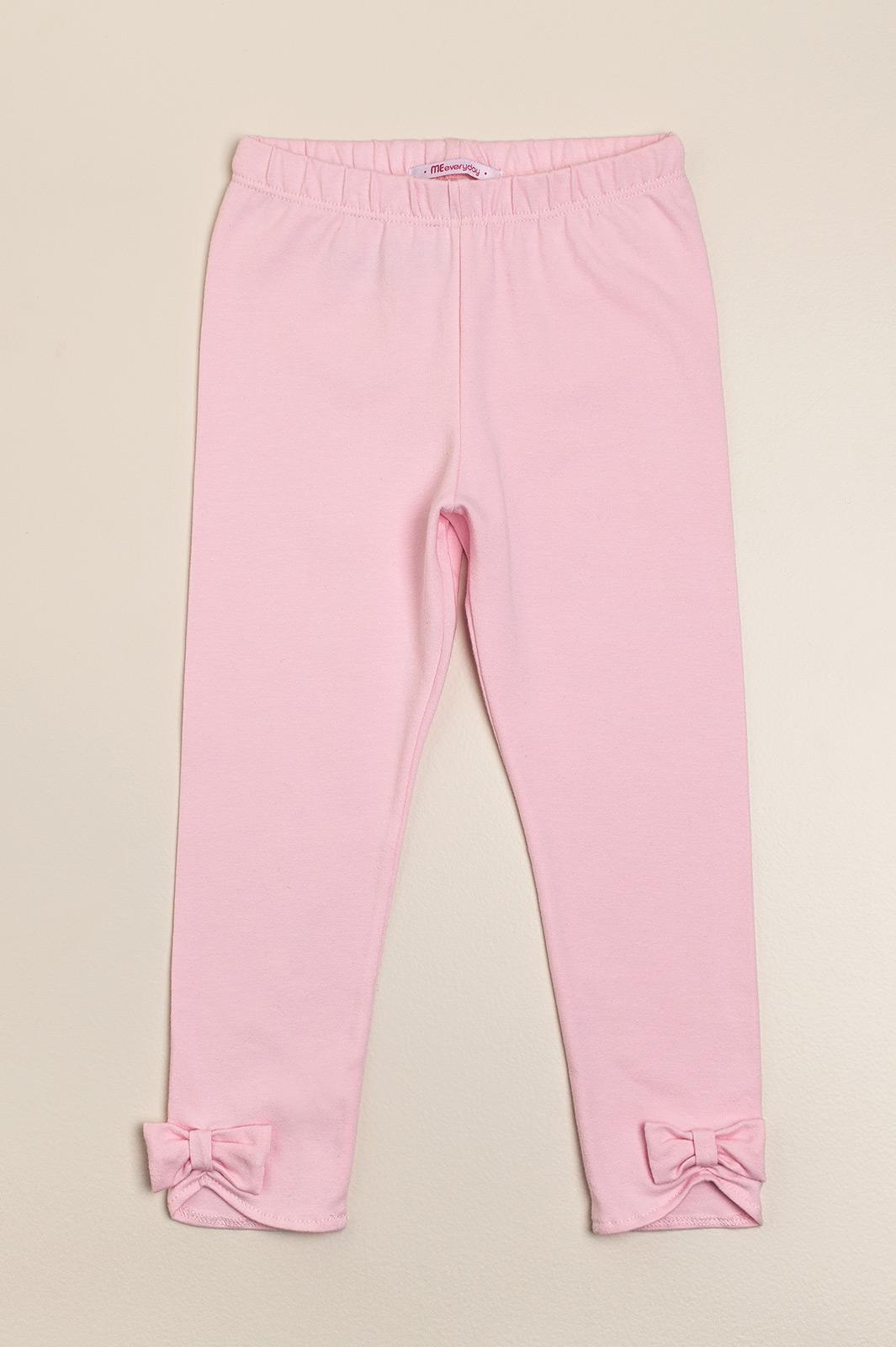 Leggins con moño rosa