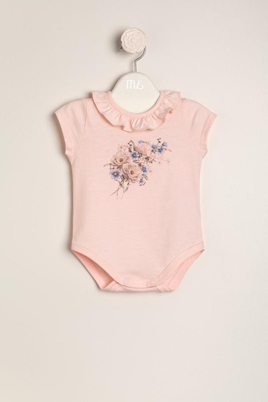Body estamp floral rosa