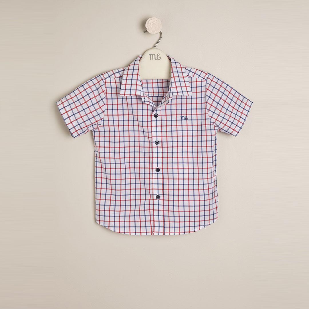 Camisa escocesa Calvin b/r/a