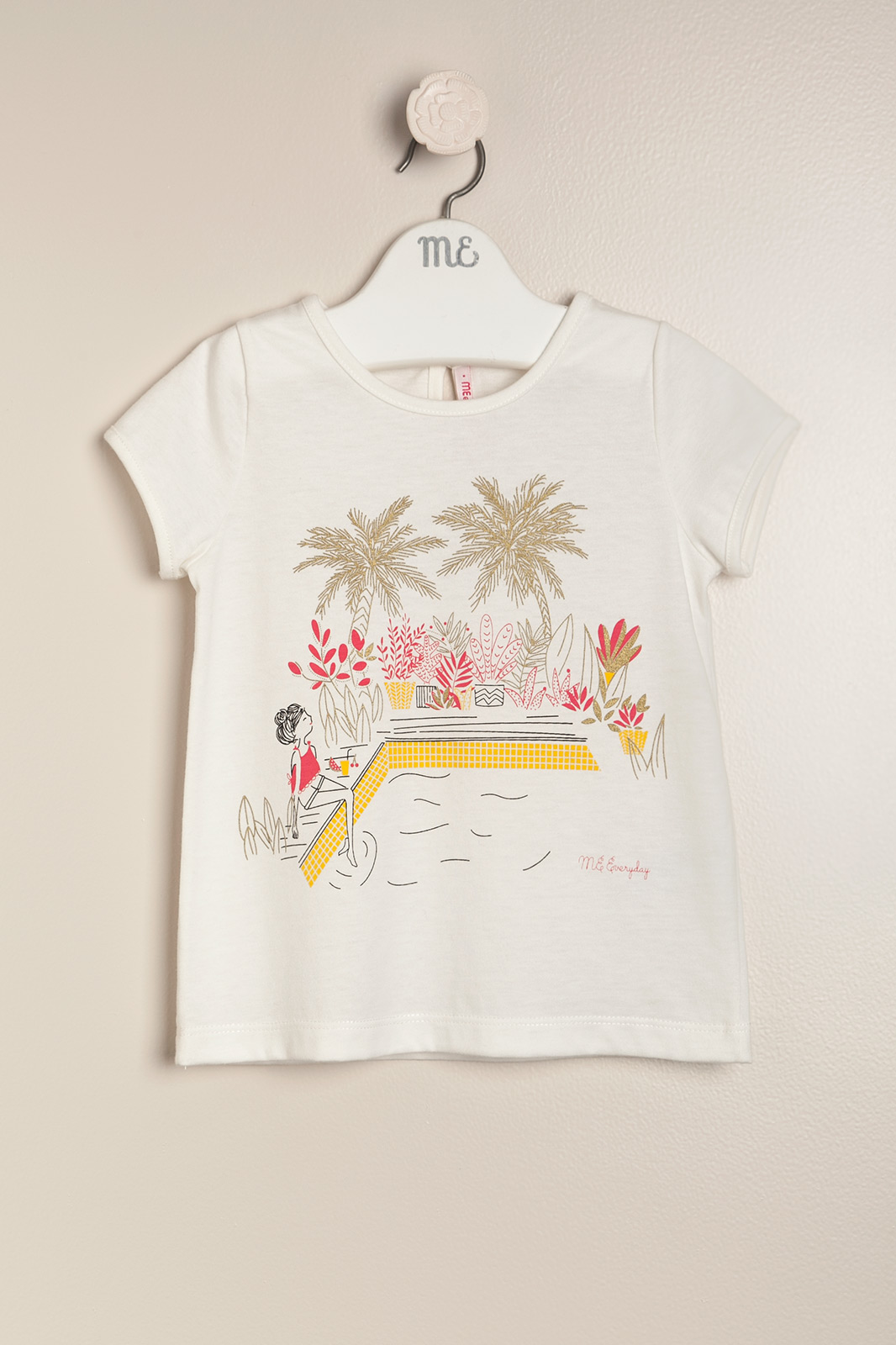 Remera swimming crudo