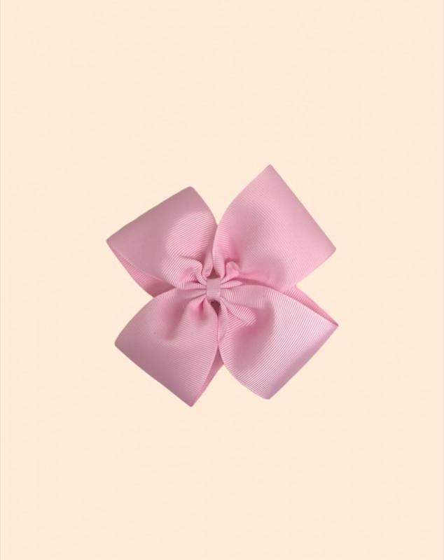 Moño mediano gross rosa