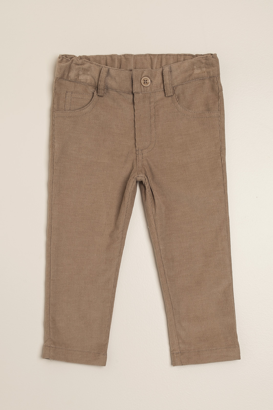 Pantalon de corderoy beige