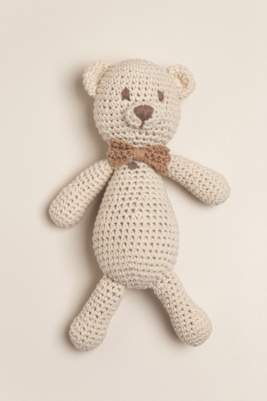 Muñeco tejido oso