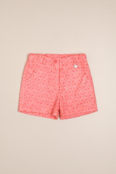 Short brod. batik rosa