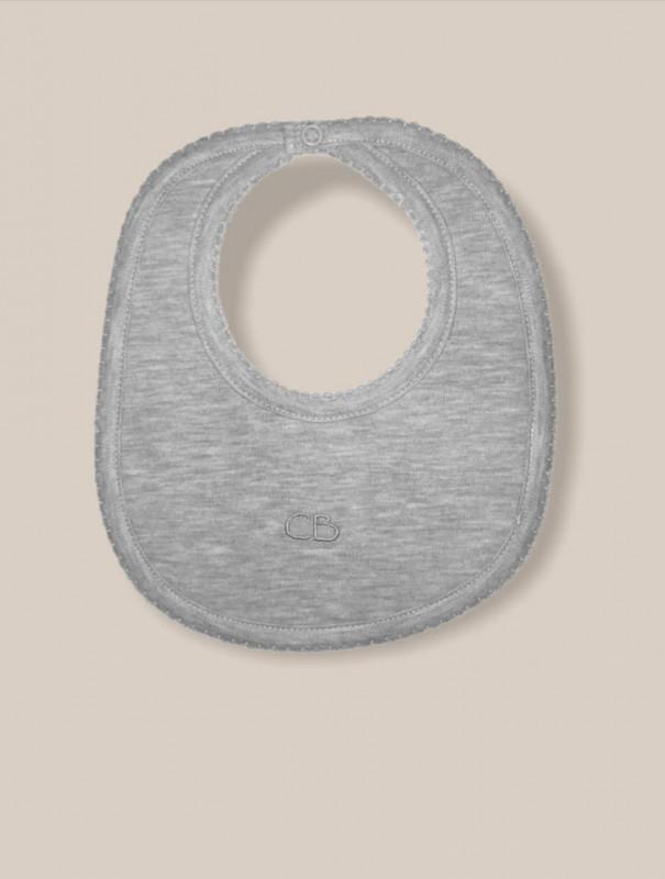 Babero basico gris