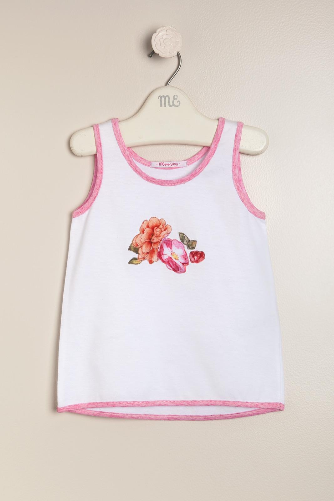 Musculosa con flores lulu