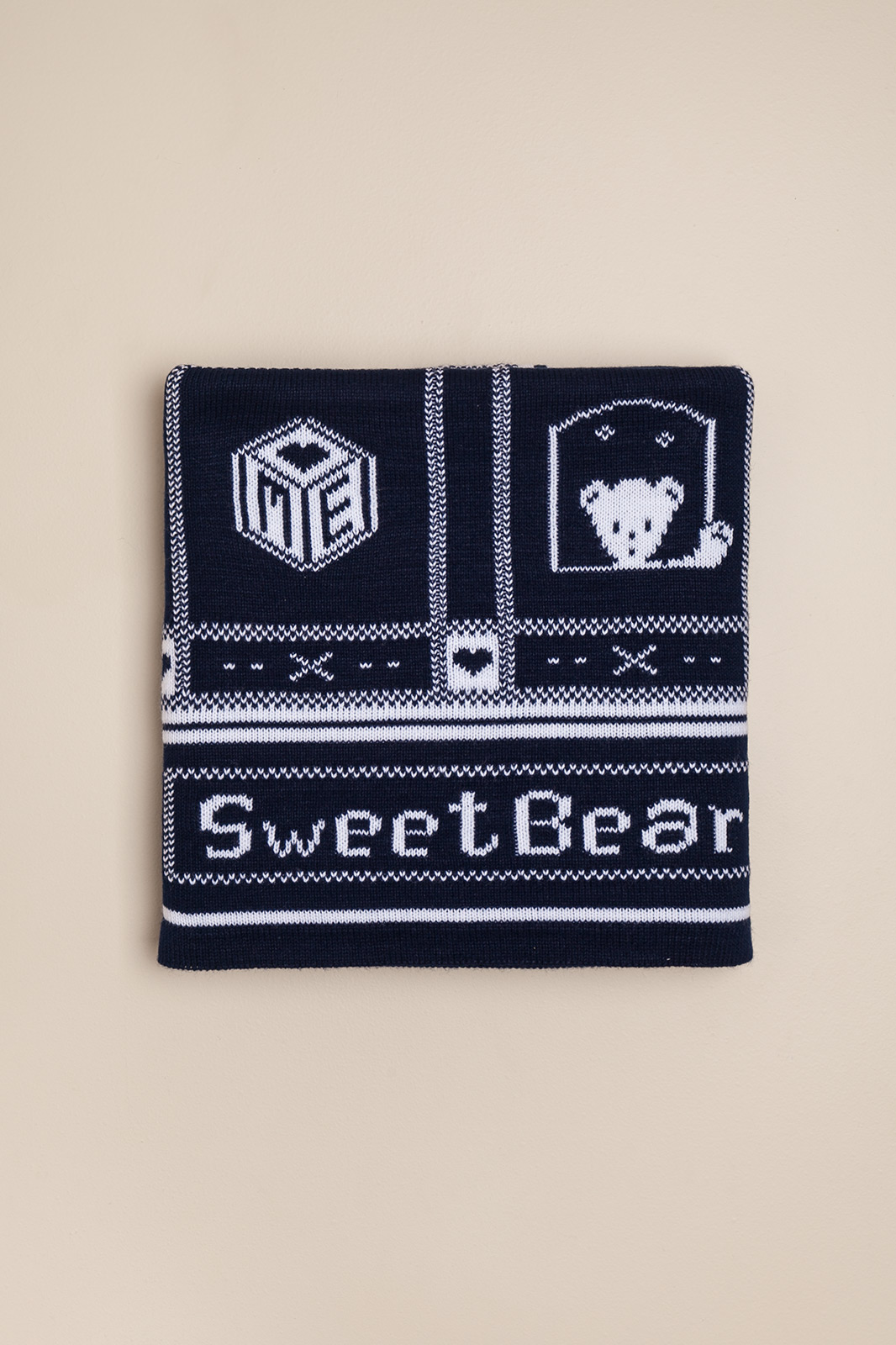 Cover sweat bear azul
