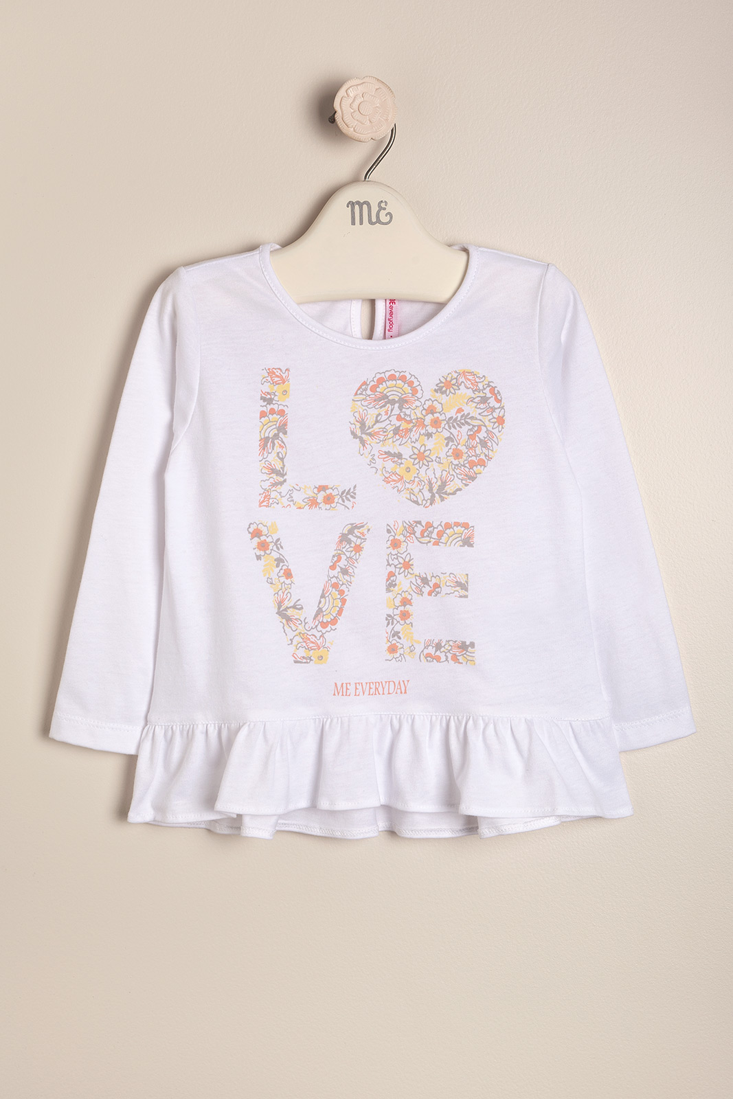 Remera estampada Love
