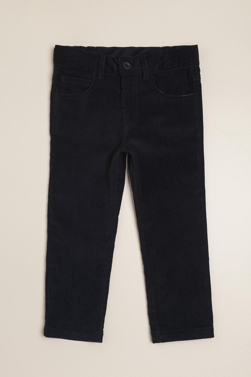 Pantalon de corderoy azul
