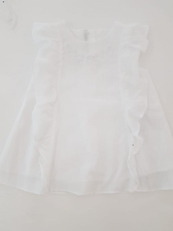 Vestido Ambar blanco