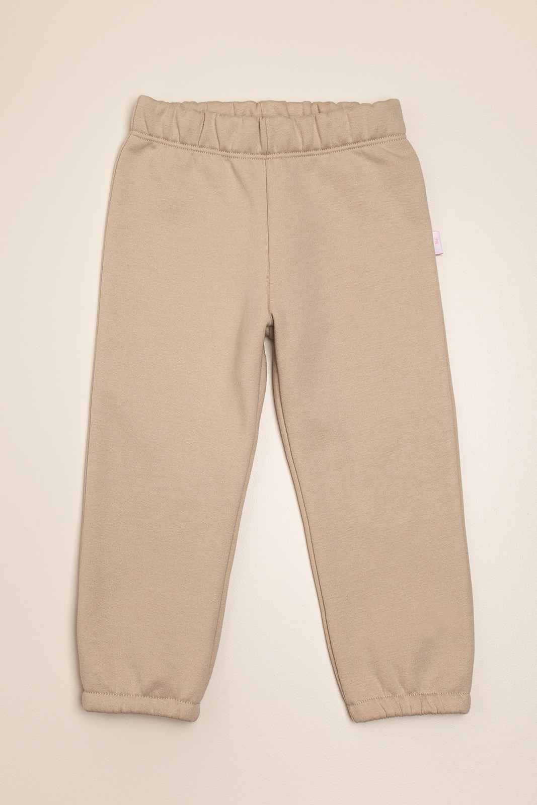Pantalon de frisa beige Lucia