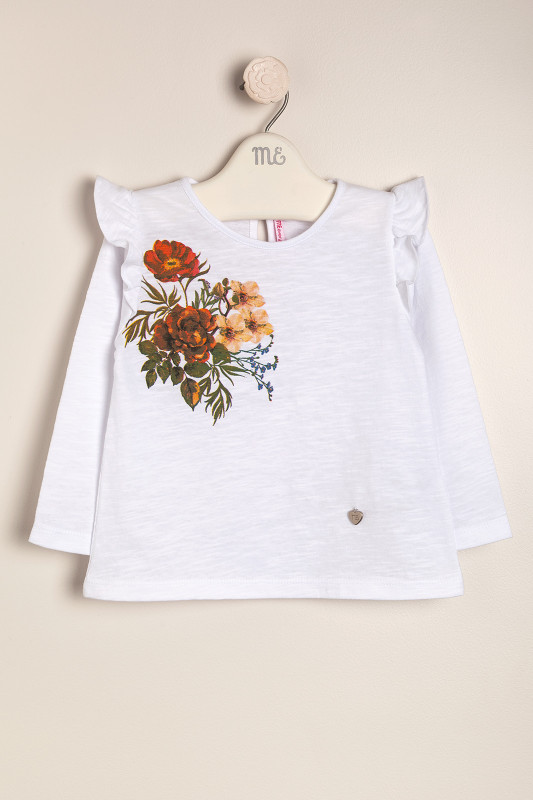 Remera floral