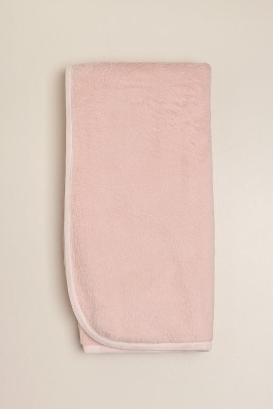 Manta de pielcita doble Regine rosa