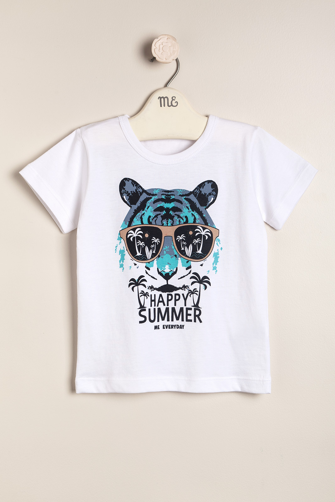 Remera estampada tiger