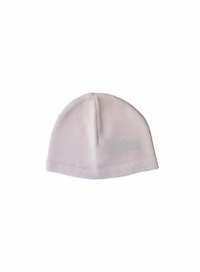 Gorro tejido de algodon rosa