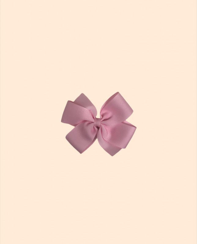Moño pequeño gross rosa