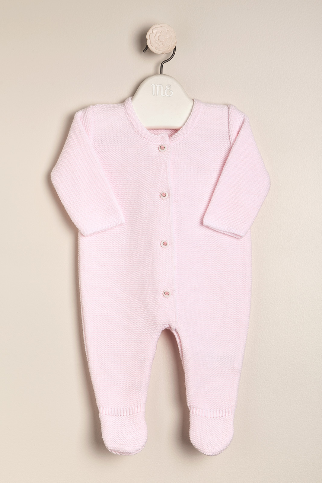 Enterito santa clara boton bord. rosa