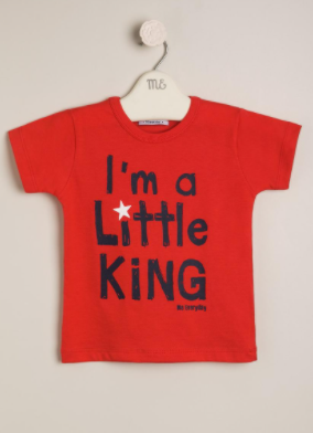 Remera little king