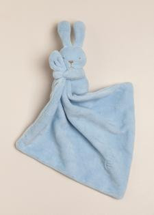 Conejo dudu de plush celeste