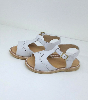 Sandalia puntito blanco