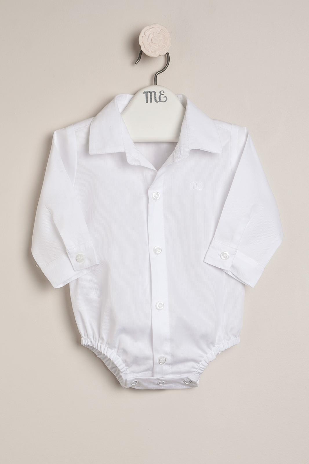 Body camisa blanco