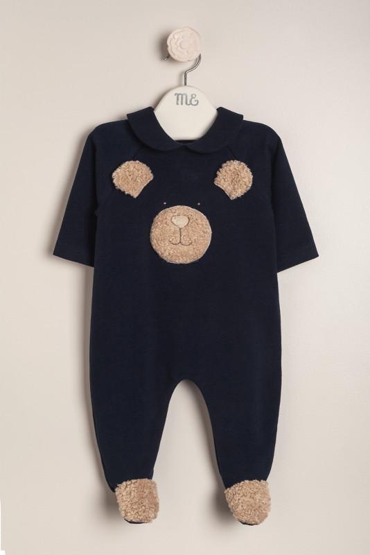 Enterito teddy bear azul