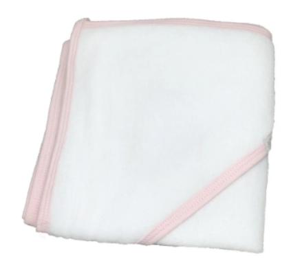 Toalla de baño clasica rosa