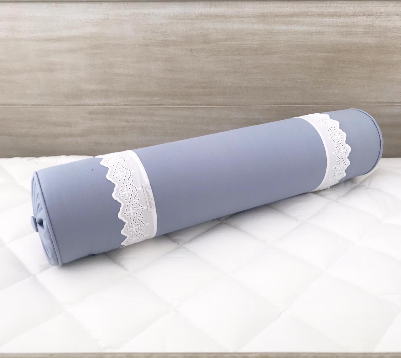 Rollo peseira 60cm 200h bord. Ingles azul diamante