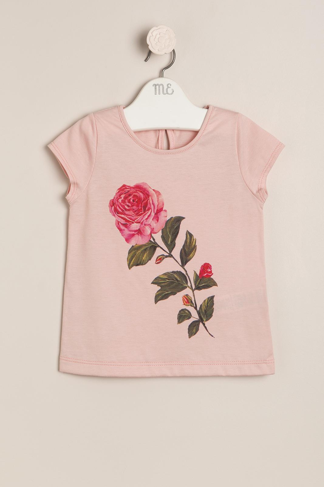 Remera rose rosa