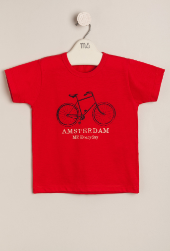 Remera Amsterdam roja